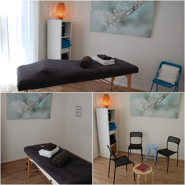 Massageruimte Studio YourBalance Tiel